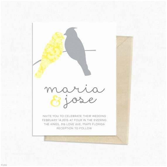 Cheap Love Bird Wedding Invitations Love Birds Wedding Invitation Template Wedding Invitation
