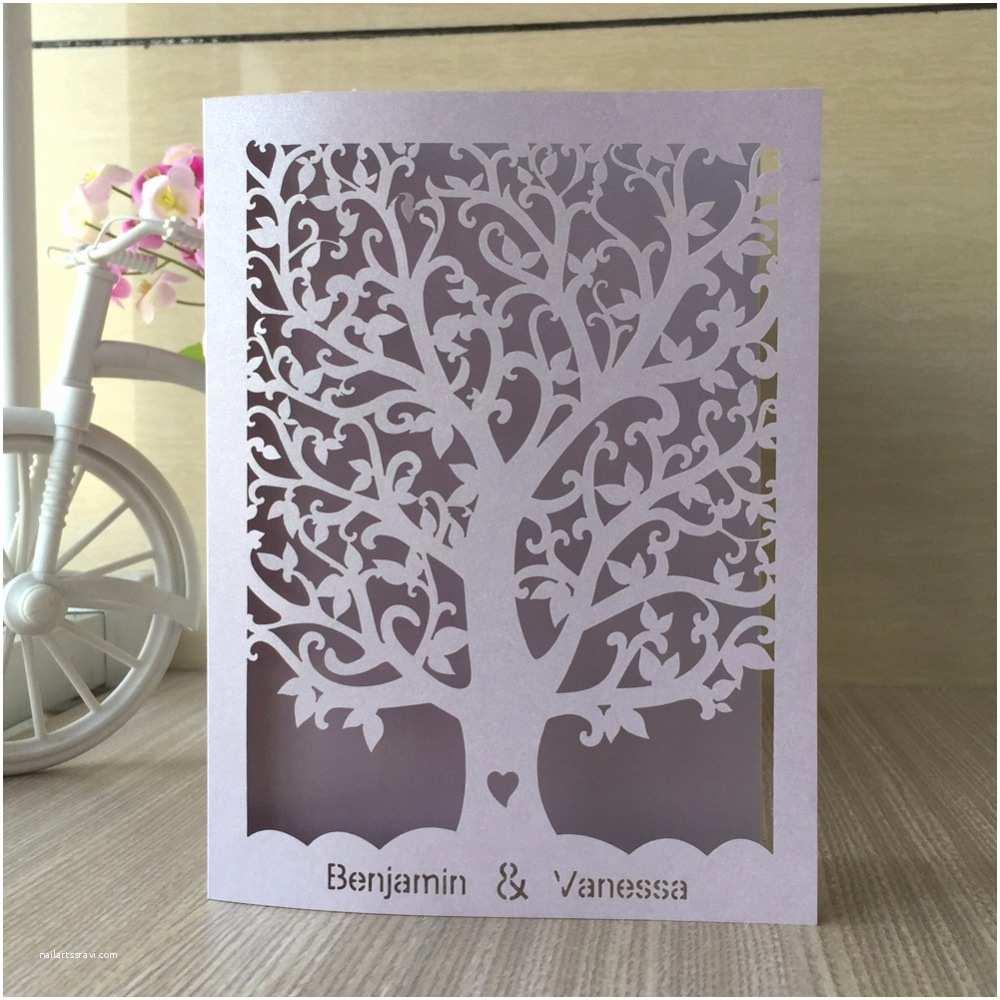 Cheap Love Bird Wedding Invitations Love Tree Wedding Invitation Various Invitation Card Design