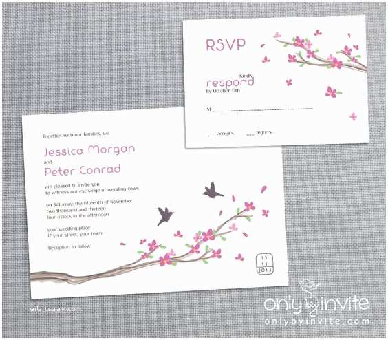 Cheap Love Bird Wedding Invitations Wedding Invitations Cheap Wedding Invitations and Cherry