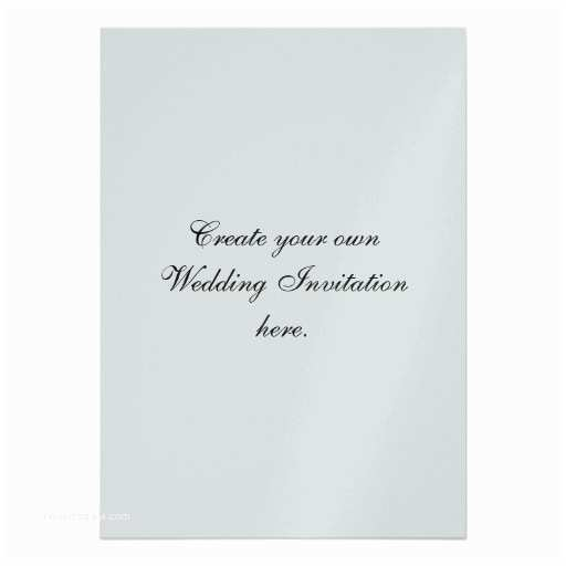 create your own wedding invitations silver