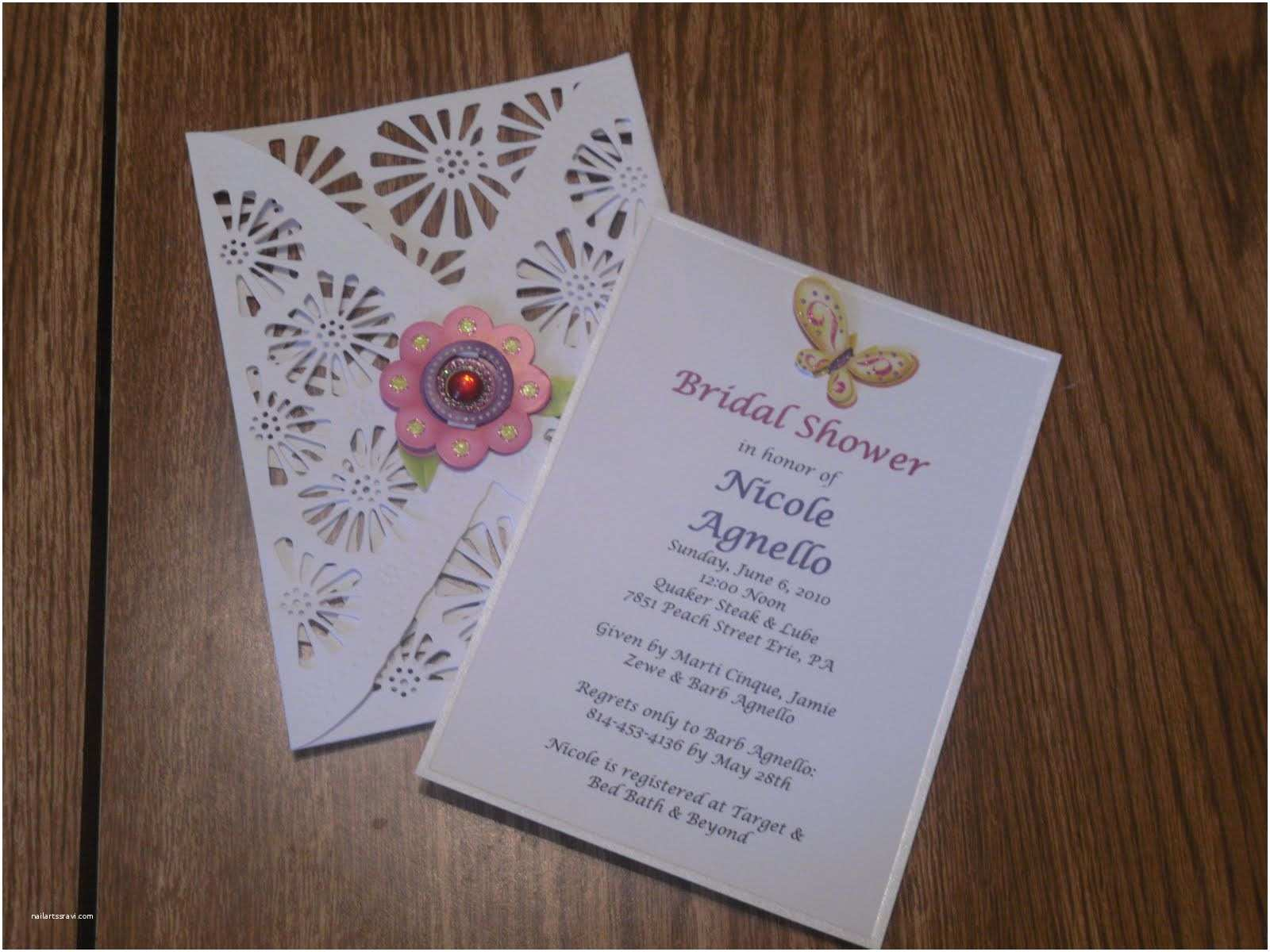 Cheap Nice Wedding Invitations Inexpensive Bridal Shower Invitations Cheap Bridal
