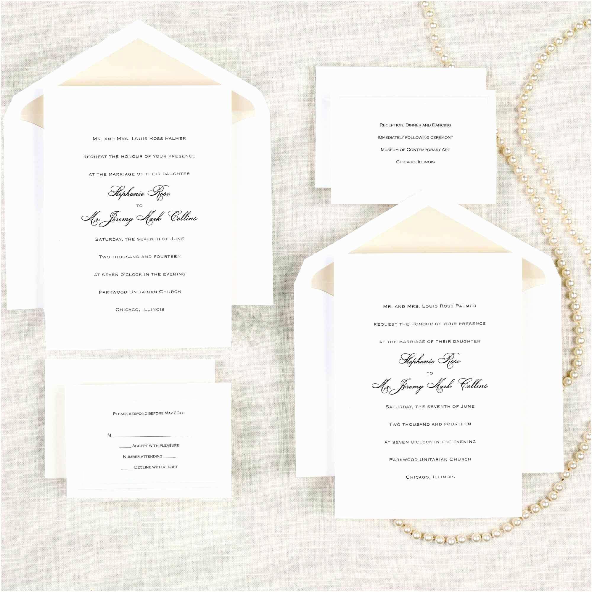 Cheap Nice Wedding Invitations Wedding Pocket Invitations Elegant Cheap Wedding