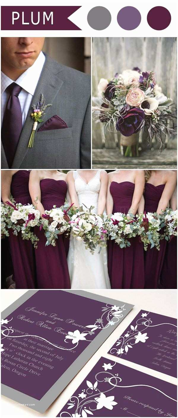 Cheap Plum Wedding Invitations 17 Best Ideas About Purple Wedding Colors On Pinterest