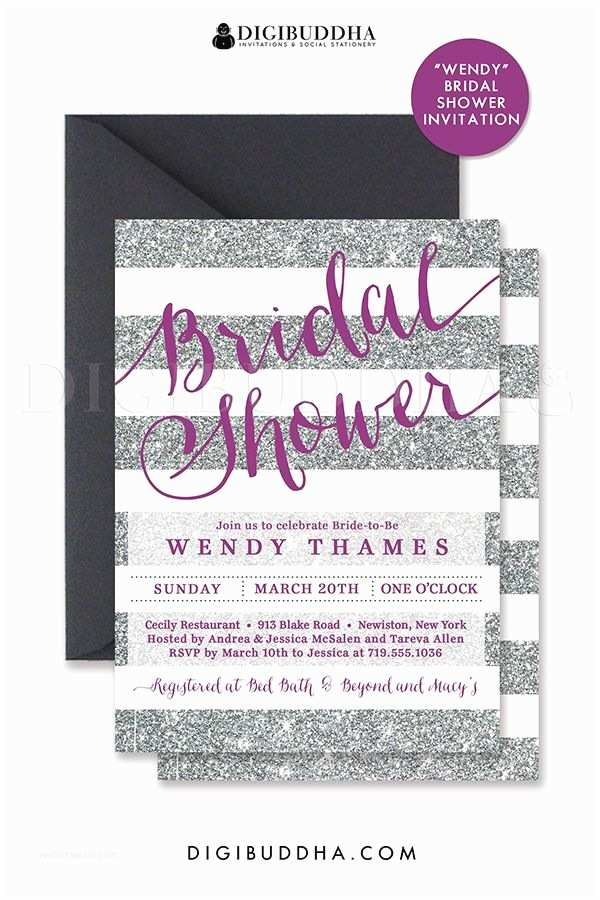 Cheap Plum Wedding Invitations 25 Best Ideas About Purple Bridal Showers On Pinterest