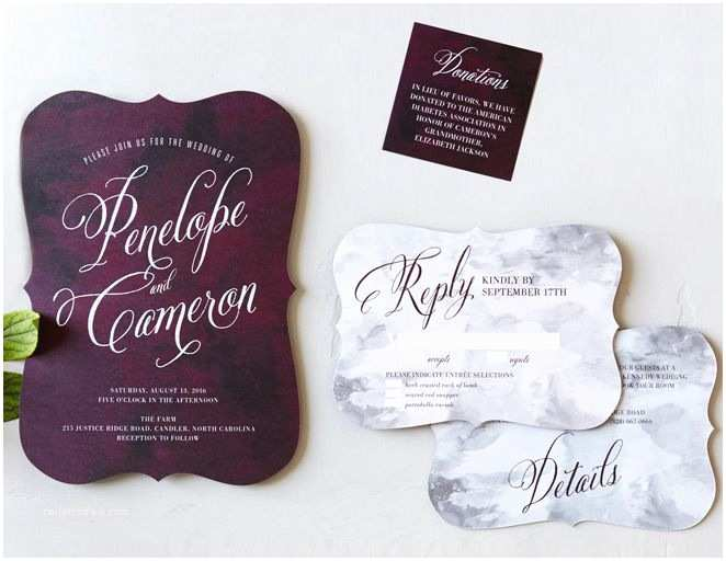 Cheap Plum Wedding Invitations Best 25 Plum Wedding Invitations Ideas Only On Pinterest