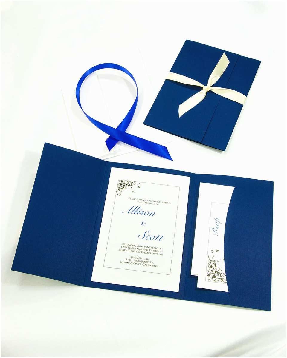 Cheap Pocket Wedding Invitation Kits Do It Yourself Wedding Invitations the Ultimate Guide