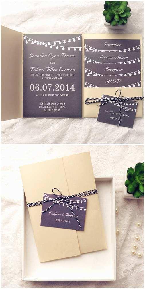 Cheap Pocket Wedding Invitation Kits top 10 Pocket Wedding Invitation Kits for Spring 2015