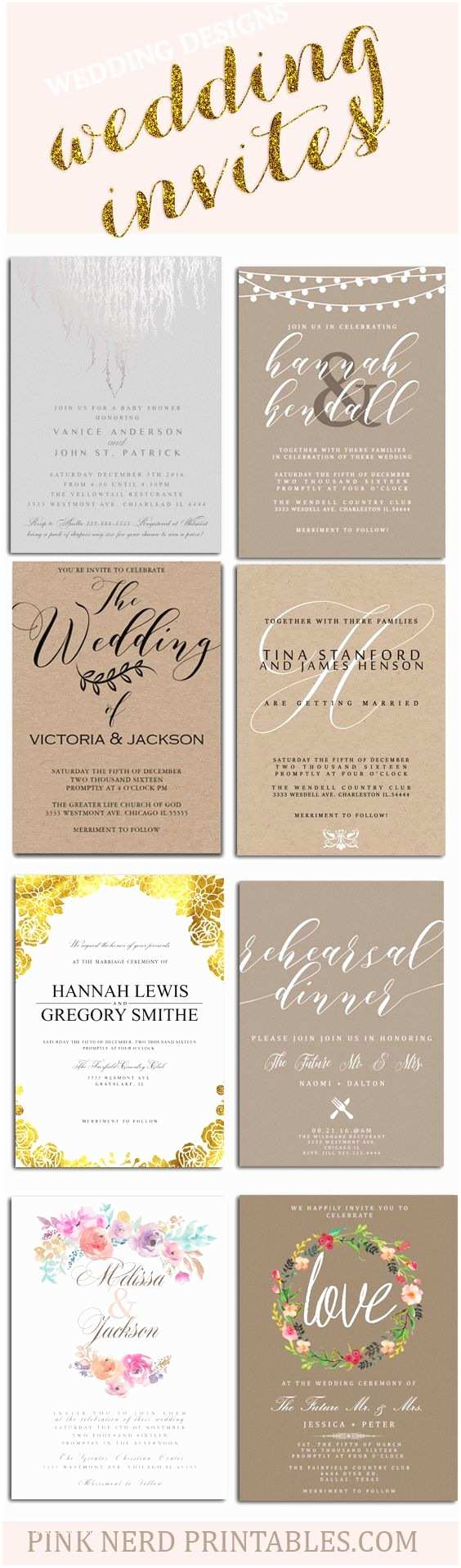 Cheap Rustic Country Wedding Invitations Best 25 Cheap Wedding Invitations Ideas On Pinterest