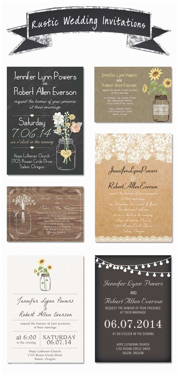 Cheap Rustic Country Wedding Invitations Cheap and Rustic Wedding Invitations as Low as $0 94