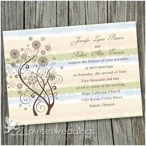 Cheap Rustic Country Wedding Invitations Neutral Wedding Invitations Cheap Invites at