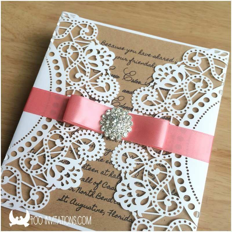 Cheap Wedding Invitation Cards Beautiful Laser Cut Wedding Invitations for Limit Bud