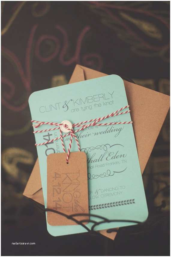 Cheap Wedding Invitation Cards Items Similar to Tying the Knot Rustic Inspired