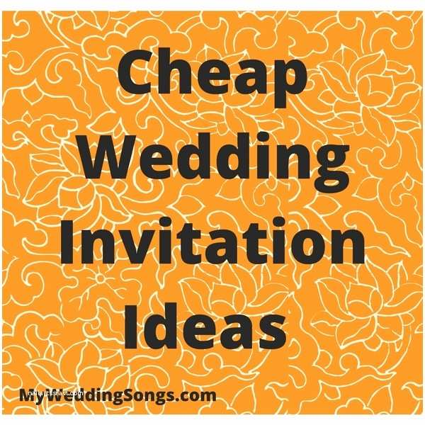 Cheap Wedding Invitation Ideas 5 Cheap Wedding Invitation Ideas For Those A