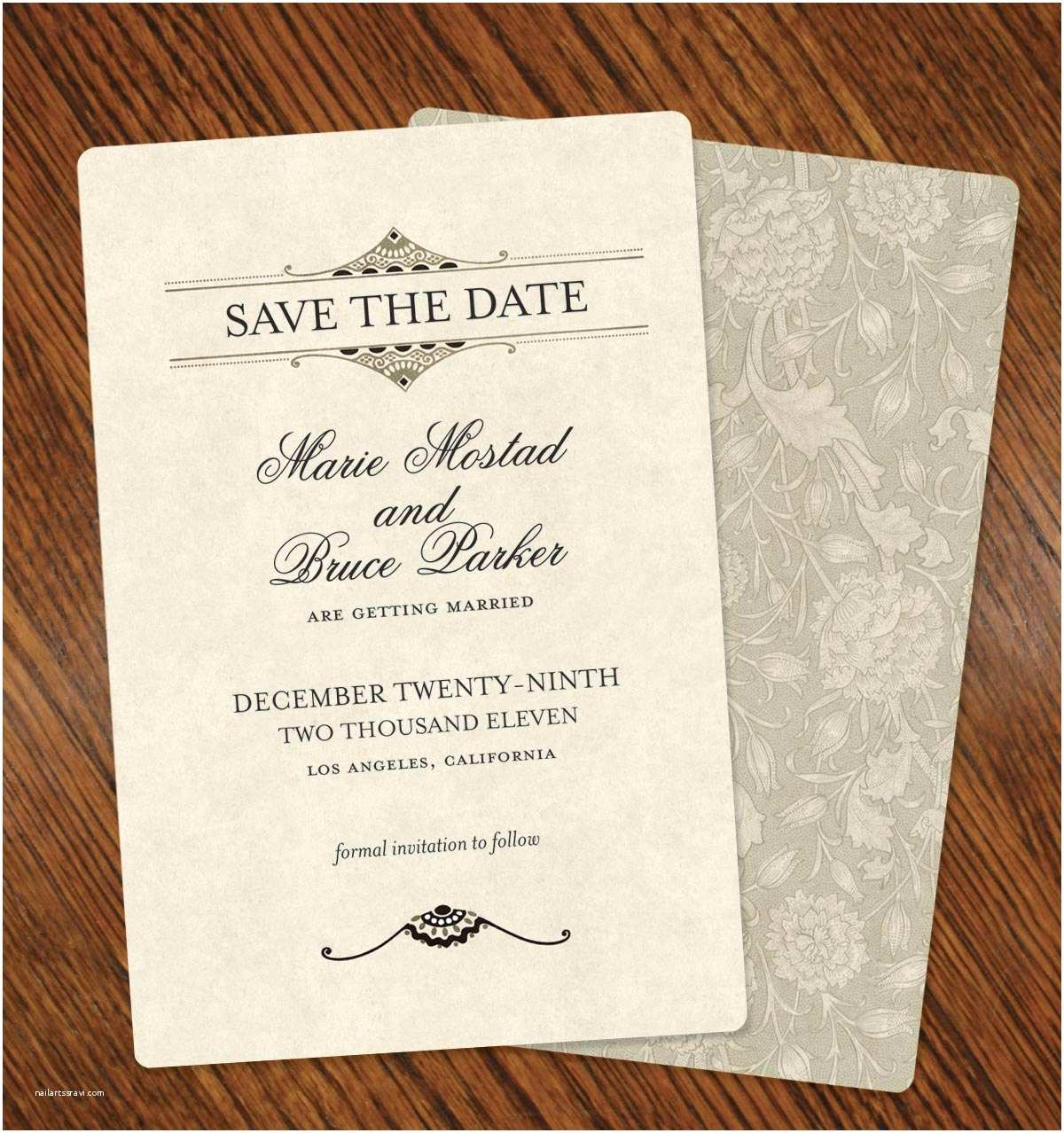 Cheap Wedding Invitations and Save the Dates Packages Simple Save the Date Wedding Invitation Card Ideas with