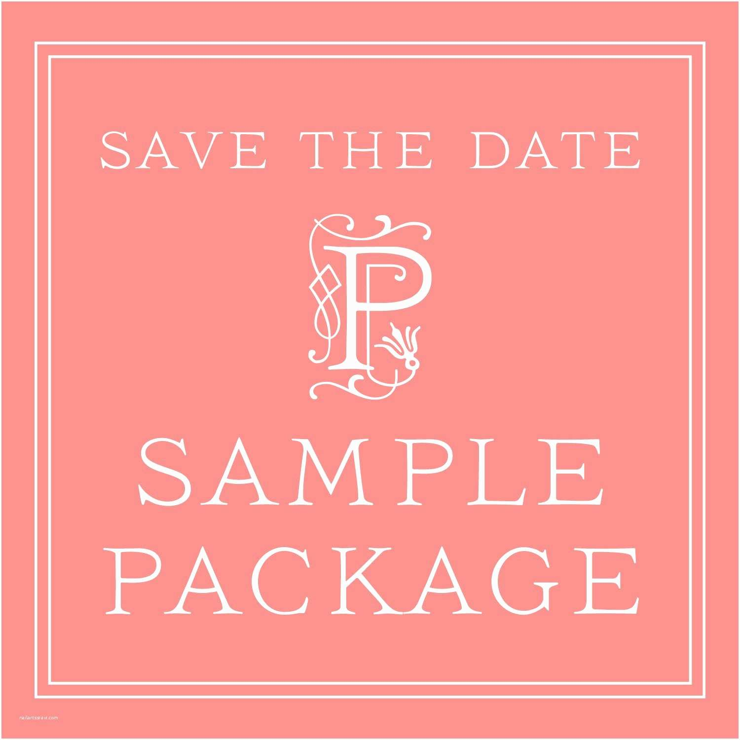 Cheap Wedding Invitations and Save the Dates Packages Wedding Save the Date Sample Package – Classic Save the