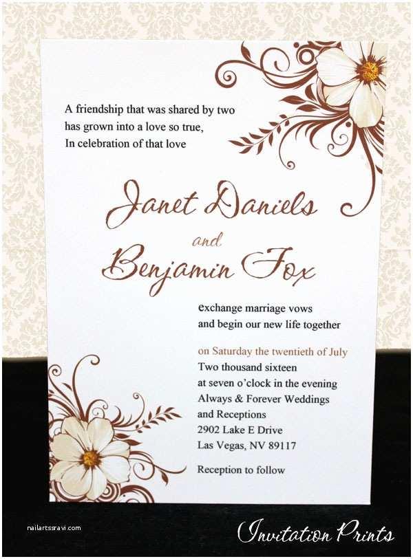 Cheap Wedding Invitations Ebay Affordable Customized Wedding Invitations Flower Panel