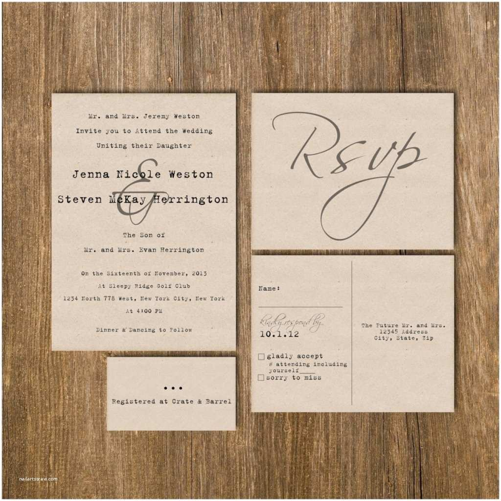 Cheap Wedding Invitations Packs How to Package Wedding Invitations