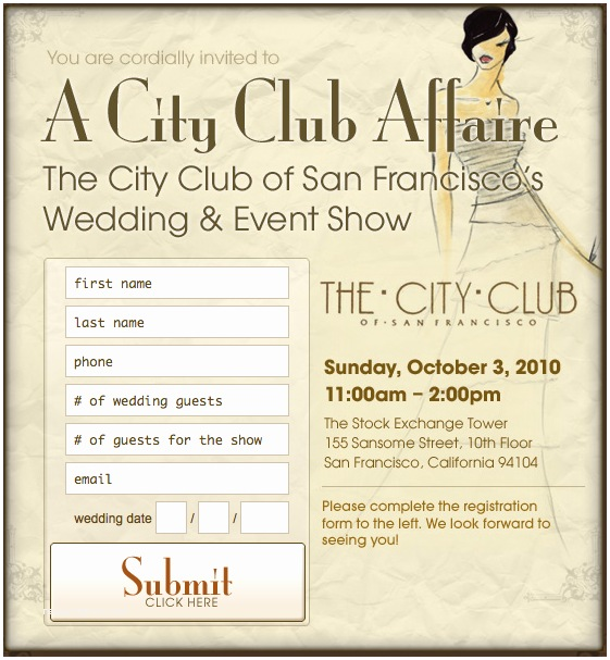 Cheap Wedding Invitations San Diego City Club Of San Francisco Wedding and event Planning