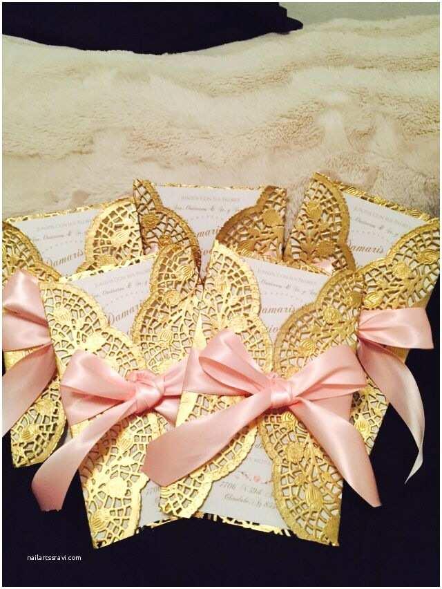 Cheap Wedding Invitations Walmart Diy Doilie & Bow Wedding Invitations Easy Beautiful and Cheap Perfect for A Simple Wedding