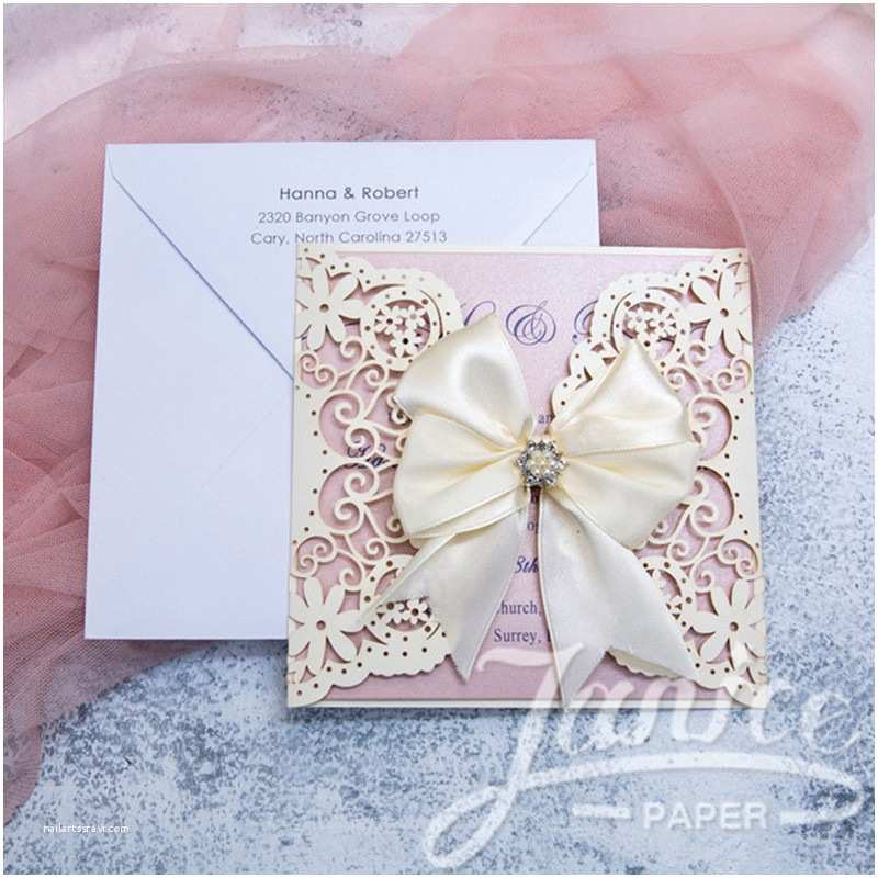 Cheap Wedding Invitations wholesale Cheap Laser Cut Lace Wedding Invitations Wpl0042