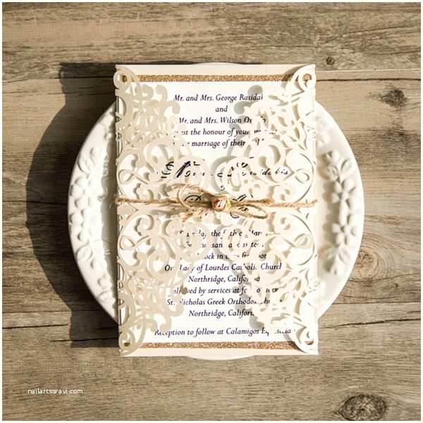 Cheap Wedding Invitations with Free Response Cards 13 Awesome Inexpensive Wedding Invitations with Free