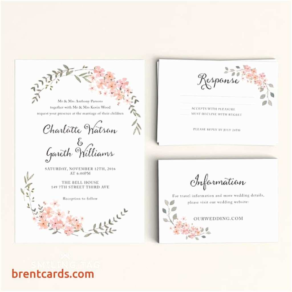 Cheap Wedding Invitations with Rsvp Cards Included Cheap Wedding Invitations with Free Response Cards – Mini Bridal