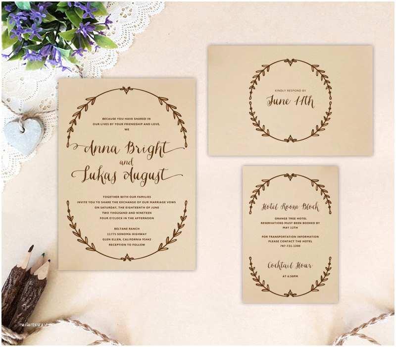 Cheap Wedding Invites with Response Cards Cheap Wedding Invitation Sets Printed Invite Rsvp Postcard