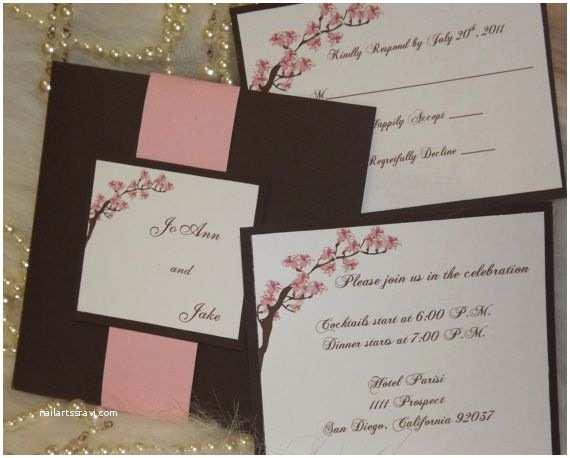 Cherry Blossom Wedding Invitations 27 Best Cherry Blossom Invitations Images On