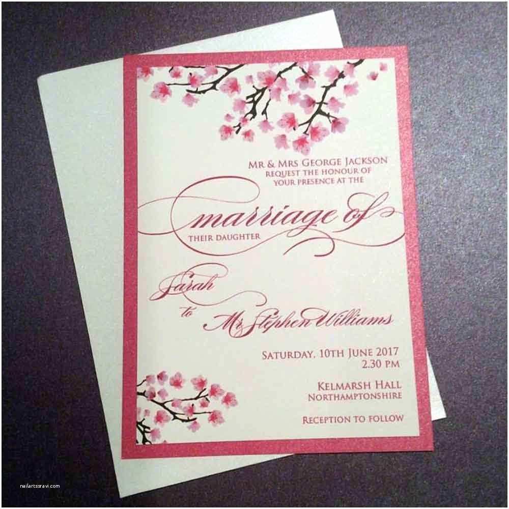 Cherry Blossom Wedding  Wedding
