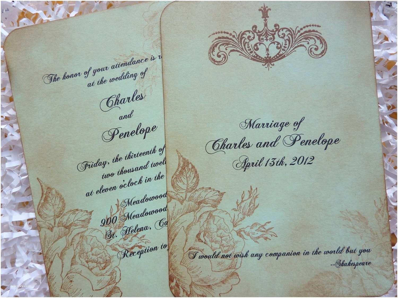 Chic Wedding Invitations How to Make Shabby Chic Wedding Invitations