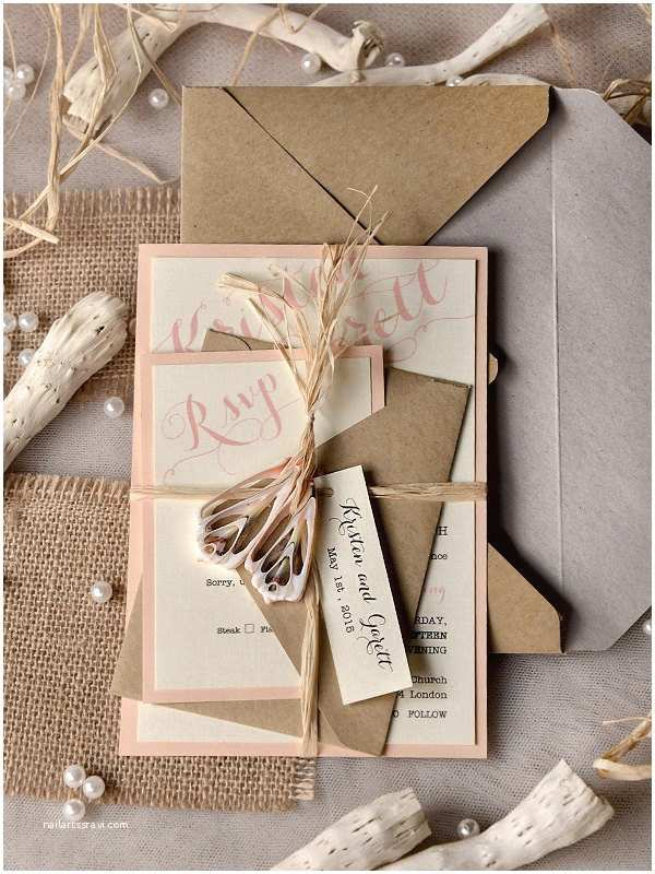 Chic Wedding Invitations Mod Finds Rustic Chic Wedding Invitations Modwedding