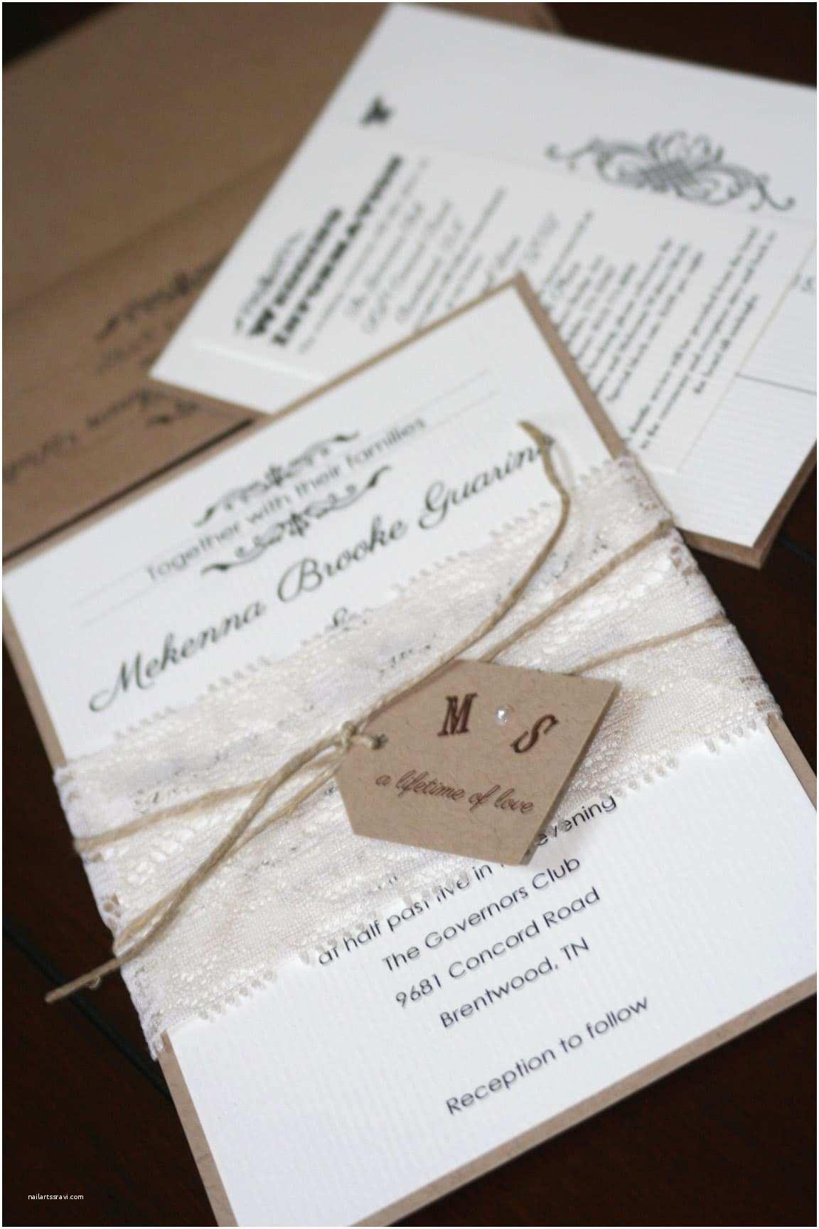 Chic Wedding Invitations Summer In Full Swing too Chic & Little Shab Design