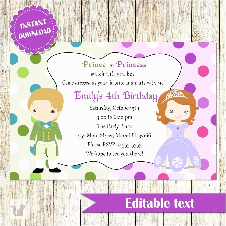 Childrens Birthday Party Invitations Invites Toddler