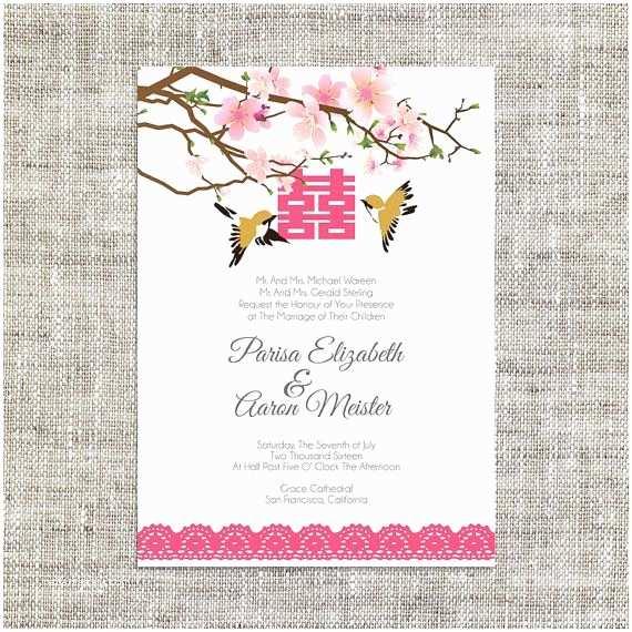 Chinese Wedding Invitation Template 25 Best Ideas About Wedding Invitation Card Template On