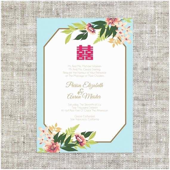 Chinese Wedding Invitations the 25 Best Chinese Wedding Invitation Ideas On Pinterest
