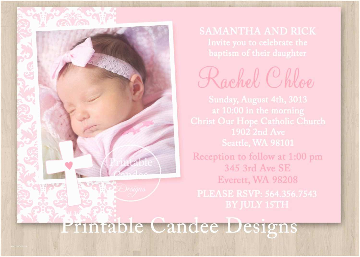 Christening Invitation Wording Baptism Invitation Wording Baptism Invitation Wording
