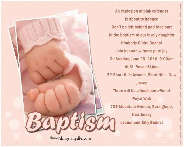 Christening Invitation Wording Baptism Invitations Wording – Gangcraft