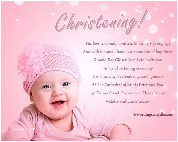 Christening Invitation Wording Christening Invitation Wording Cobypic