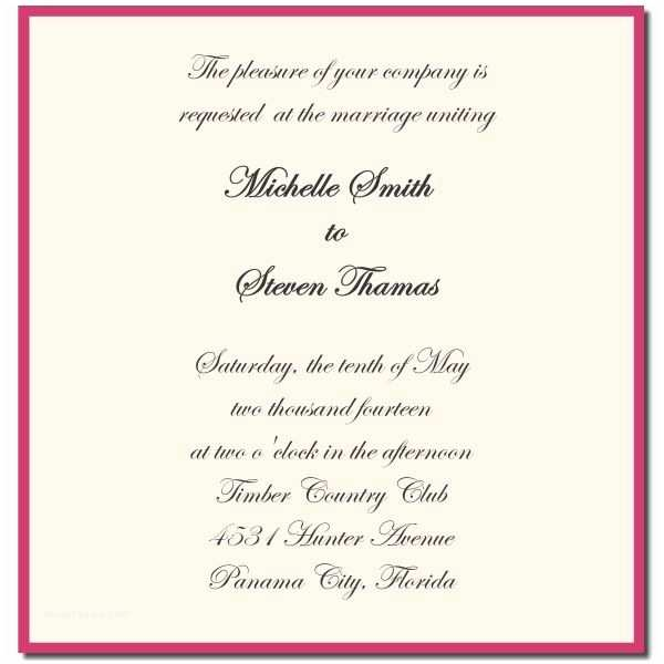 Christian Wedding Invitation Wording Samples From Bride and Groom Wedding Invitations Wording From Bride and Groom