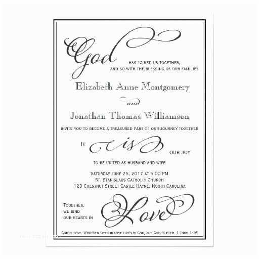 Christian Wedding Invitations 294 Best Christian Wedding Invitations Images On Pinterest
