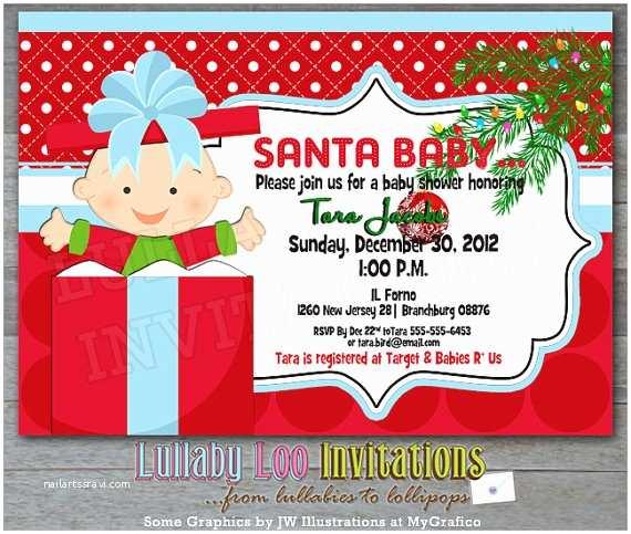 Christmas Baby Shower Invitations Baby Shower Invitation Templates Christmas Baby Shower