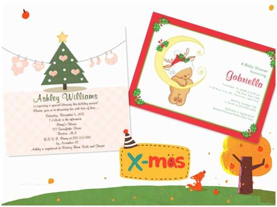 Christmas Baby Shower Invitations Christmas Baby Shower Ideas 2012