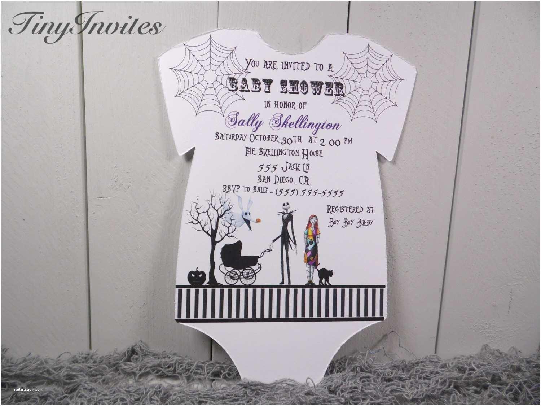 Christmas Baby Shower Invitations Nightmare before Christmas Baby Shower by Tinyinvites On Etsy