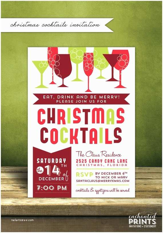 Christmas Cocktail Party Invitations Christmas Cocktail Party Invitations Christmas Party