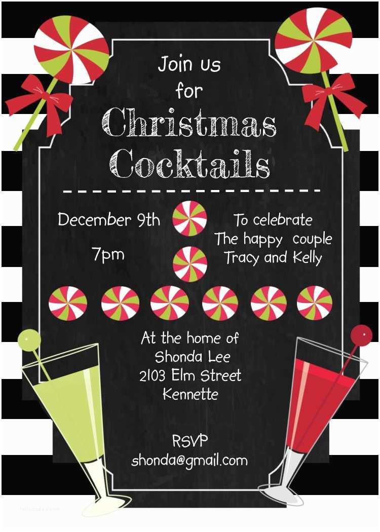 Christmas Cocktail Party Invitations Christmas Cocktail Party Invitations Selection 2017