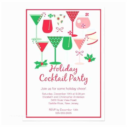 Christmas Cocktail Party Invitations.Christmas Cocktail Party Invitations Holiday Cocktail Christmas