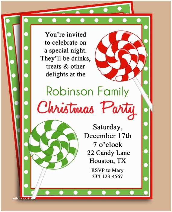 Christmas Party Invitation Template 7 Best Of Free Printable Christmas Invitation