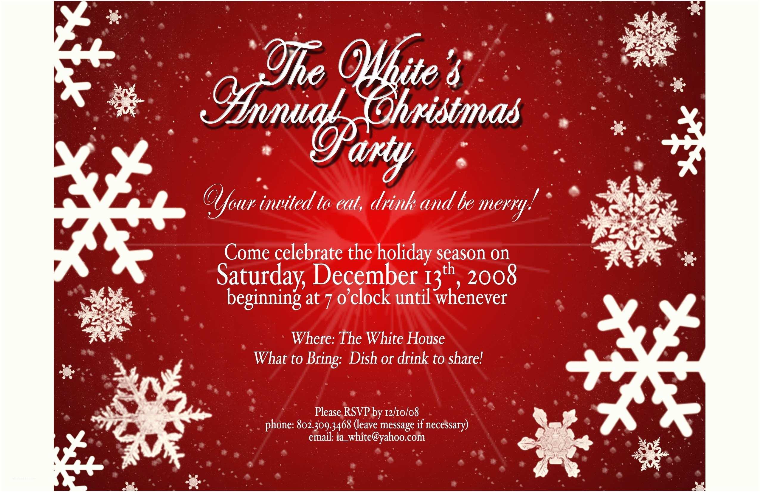 Christmas Party Invitation Template Christmas Invitation Templates Free Template Resume Builder