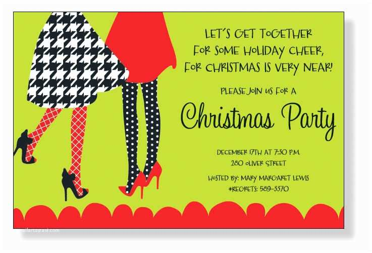 Christmas Party Invitation Wording Designer Christmas Cards