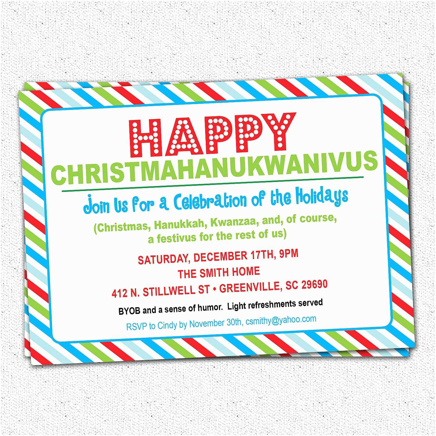 Christmas Party Invitation Wording Funny Christmas Party Invitation Wording